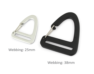 Alutica_Triangle Clip Hook