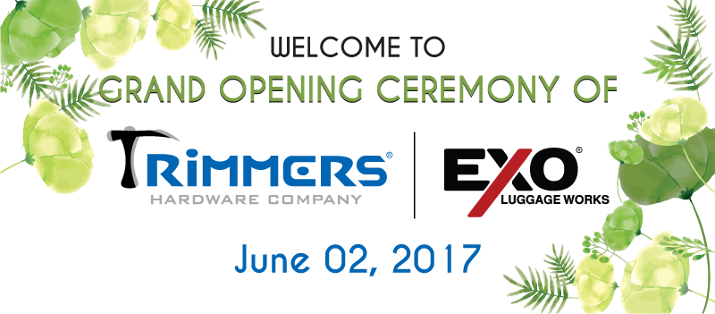 Grand Opening Ceremony Of Trimmers - EXO