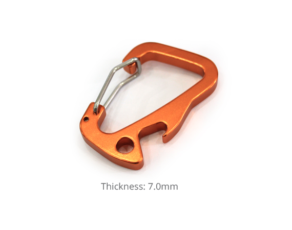 Alutica_Shark Tale Carabiner Regular